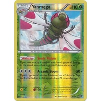 Yanmega 7/114 XY Steam Siege Reverse Holo Rare Pokemon Card NEAR MINT TCG