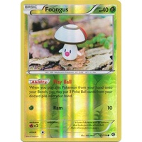 Foongus 12/114 XY Steam Siege Reverse Holo Common Pokemon Card NEAR MINT TCG