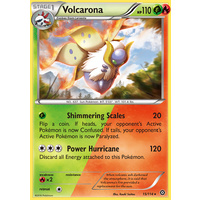 Volcarona 15/114 XY Steam Siege Rare Pokemon Card NEAR MINT TCG