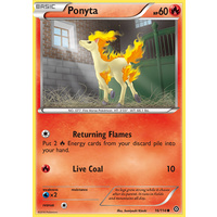 Ponyta 16/114 XY Steam Siege Common Pokemon Card NEAR MINT TCG