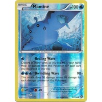 Mantine 27/114 XY Steam Siege Reverse Holo Common Pokemon Card NEAR MINT TCG