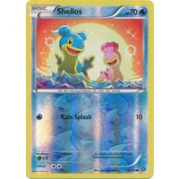 Shellos 28/114 XY Steam Siege Reverse Holo Common Pokemon Card NEAR MINT TCG