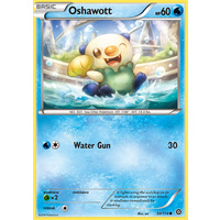 Oshawott 30/114 XY Steam Siege Common Pokemon Card NEAR MINT TCG