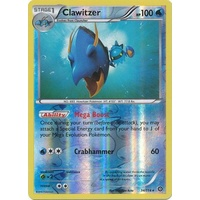 Clawitzer 34/114 XY Steam Siege Reverse Holo Rare Pokemon Card NEAR MINT TCG