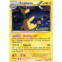 Ampharos 40/114 XY Steam Siege Holo Rare Pokemon Card NEAR MINT TCG
