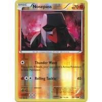 Nosepass 54/114 XY Steam Siege Reverse Holo Common Pokemon Card NEAR MINT TCG