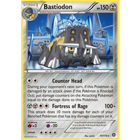 Bastiodon 70/114 XY Steam Siege Rare Pokemon Card NEAR MINT TCG