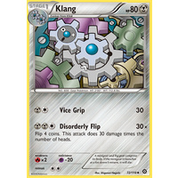 Klang 72/114 XY Steam Siege Uncommon Pokemon Card NEAR MINT TCG