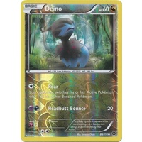 Deino 84/114 XY Steam Siege Reverse Holo Common Pokemon Card NEAR MINT TCG