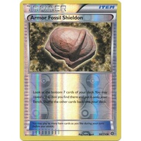 Armor Fossil Shieldon 98/114 XY Steam Siege Reverse Holo Uncommon Trainer Pokemon Card NEAR MINT TCG