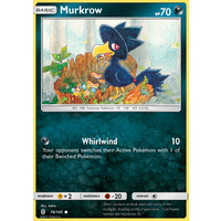 Murkrow 78/145 SM Guardians Rising Common Pokemon Card MINT TCG