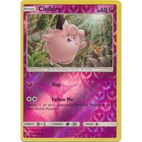 Clefairy 88/145 SM Guardians Rising Reverse Holo Common Pokemon Card MINT TCG