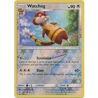 Watchog 108/145 SM Guardians Rising Reverse Holo Uncommon Pokemon Card MINT TCG
