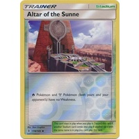 Altar of the Sunne 118/145 SM Guardians Rising Reverse Holo Uncommon Trainer Pokemon Card MINT TCG