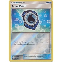 Aqua Patch 119/145 SM Guardians Rising Reverse Holo Uncommon Trainer Pokemon Card MINT TCG
