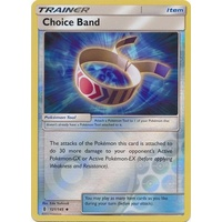 Choice Band 121/145 SM Guardians Rising Reverse Holo Uncommon Trainer Pokemon Card MINT TCG