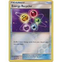 Energy Recycler 123/145 SM Guardians Rising Reverse Holo Uncommon Trainer Pokemon Card MINT TCG