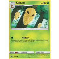 Kakuna 2/111 SM Crimson Invasion Uncommon Pokemon Card MINT TCG