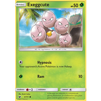 Exeggcute 4/111 SM Crimson Invasion Common Pokemon Card MINT TCG