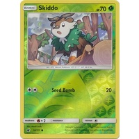 Skiddo 10/111 SM Crimson Invasion Reverse Holo Common Pokemon Card MINT TCG