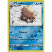 Piloswine 20/111 SM Crimson Invasion Reverse Holo Uncommon Pokemon Card MINT TCG