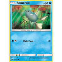 Remoraid 22/111 SM Crimson Invasion Common Pokemon Card MINT TCG