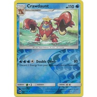 Crawdaunt 25/111 SM Crimson Invasion Reverse Holo Rare Pokemon Card MINT TCG
