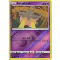Pumpkaboo 44/111 SM Crimson Invasion Reverse Holo Common Pokemon Card MINT TCG
