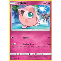 Jigglypuff 71/111 SM Crimson Invasion Common Pokemon Card MINT TCG