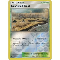 Devoured Field 93/111 SM Crimson Invasion Reverse Holo Uncommon Trainer Pokemon Card MINT TCG