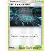 Sea of Nothingness 99/111 SM Crimson Invasion Uncommon Trainer Pokemon Card MINT TCG