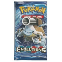 Pokemon XY Blastoise Artwork Evolutions Booster Pack BRAND NEW AND SEALED TCG