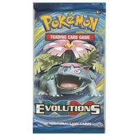 Pokemon XY Venusaur Artwork Evolutions Booster Pack BRAND NEW AND SEALED TCG