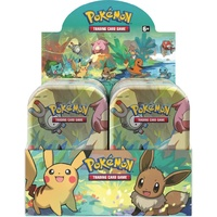 Pokemon TCG Kanto Friends Mini Tins SEALED CASE (10, TINS, 2 OF EACH ARTWORK)