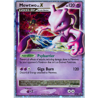 Mewtwo LV.X DP28 Black Star Promo Holo Pokemon Card NEAR MINT TCG