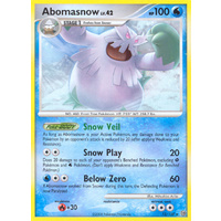 Abomasnow 12/100 DP Stormfront Rare Pokemon Card NEAR MINT TCG