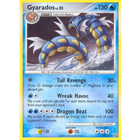 Gyarados 19/100 DP Stormfront Rare Pokemon Card NEAR MINT TCG