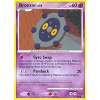 Bronzor 55/100 DP Stormfront Common Pokemon Card NEAR MINT TCG