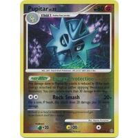 Pupitar 47/100 DP Stormfront Reverse Holo Uncommon Pokemon Card NEAR MINT TCG