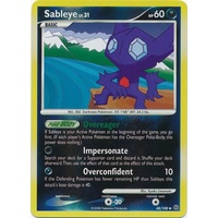 Sableye 48/100 DP Stormfront Reverse Holo Uncommon Pokemon Card NEAR MINT TCG
