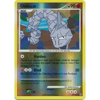 Onix 69/100 DP Stormfront Reverse Holo Common Pokemon Card NEAR MINT TCG