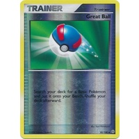 Great Ball 85/100 DP Stormfront Reverse Holo Uncommon Trainer Pokemon Card NEAR MINT TCG
