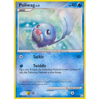 Poliwag 114/146 DP Legends Awakened Common Pokemon Card NEAR MINT TCG