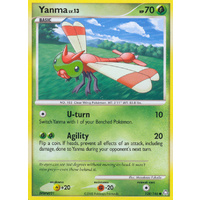 Yanma 128/146 DP Legends Awakened Common Pokemon Card NEAR MINT TCG