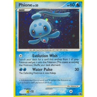 Phione 12/100 DP Majestic Dawn Holo Rare Pokemon Card NEAR MINT TCG