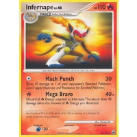 Infernape 22/100 DP Majestic Dawn Rare Pokemon Card NEAR MINT TCG