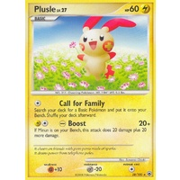 Plusle 28/100 DP Majestic Dawn Rare Pokemon Card NEAR MINT TCG