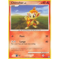 Chimchar 56/100 DP Majestic Dawn Common Pokemon Card NEAR MINT TCG