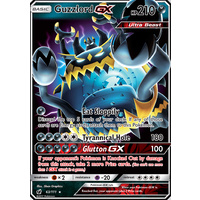 Guzzlord GX 63/111 SM Crimson Invasion Ultra Rare Holo Pokemon Card MINT BEAST