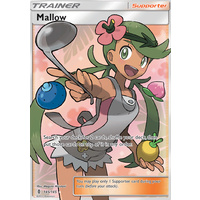 Mallow 145/145 Full Art ULTRA RARE Trainer SM Guardians Rising Pokemon Card TCG